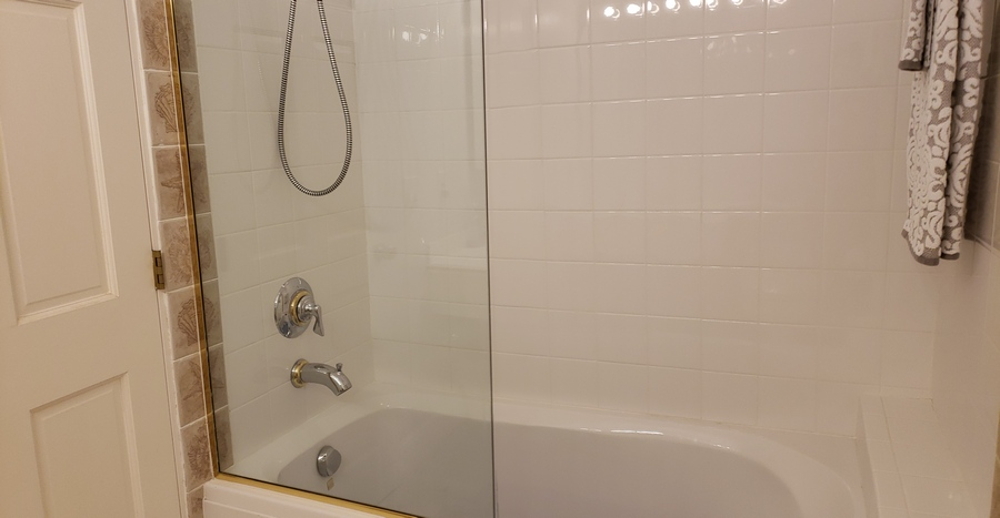 Jack and Jill Bathtub Shower Combo