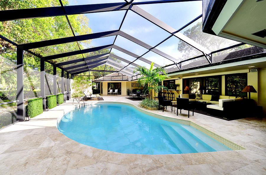 Pool Patio Area