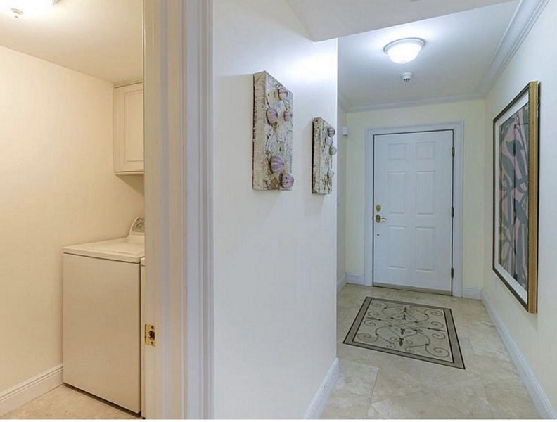 Foyer and Laundry Room